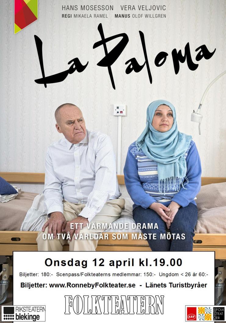 FOLKTEATERN - GÄSTSPEL  La Paloma 2d38581d70c9